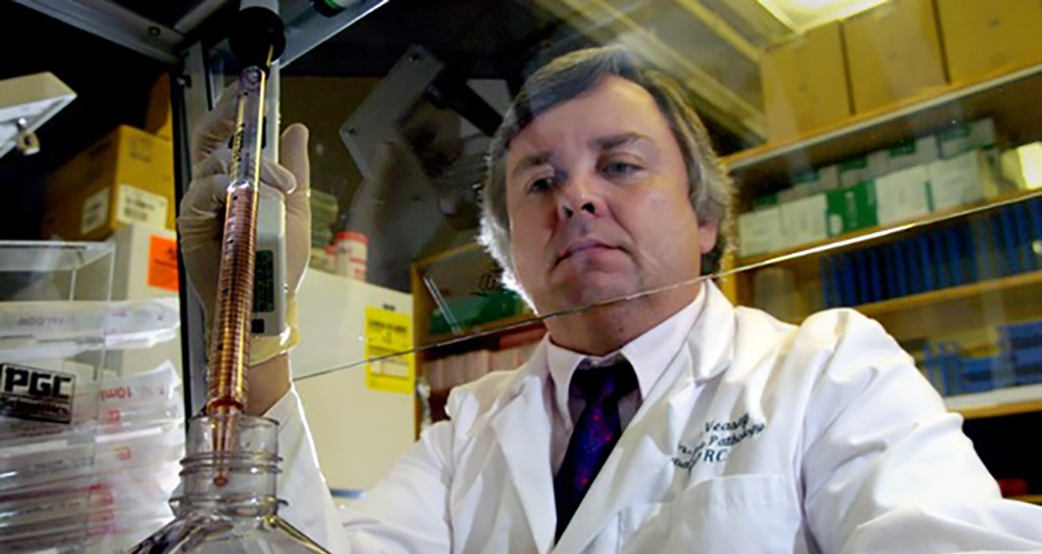 Scientist at Tulane's National Primate Research Center - LAICU